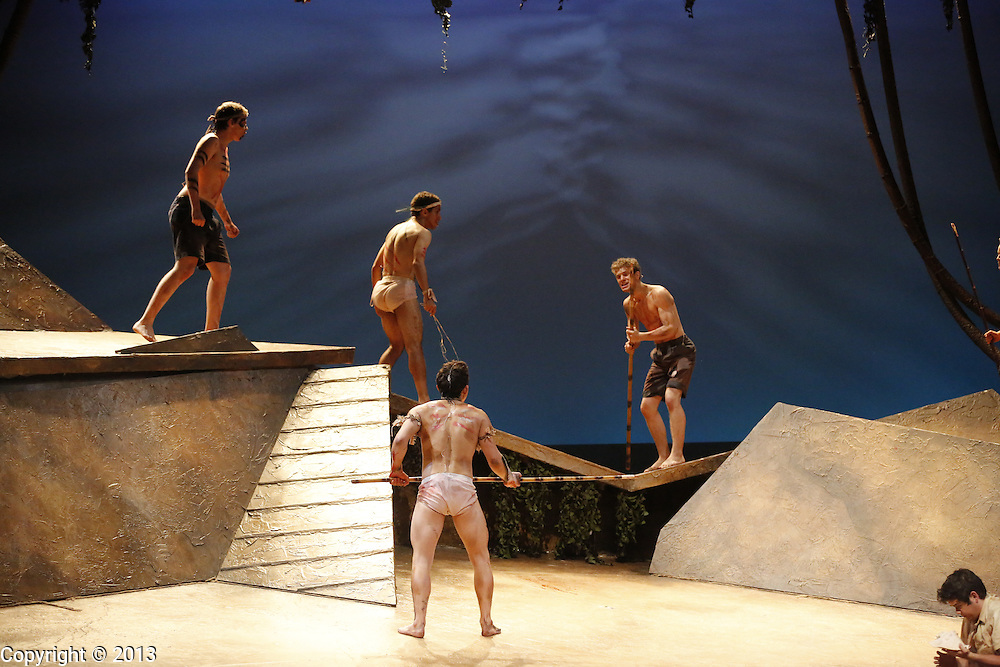Lord of the Flies production. (Photo by Jeremy Hogan)