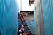 The slum of Cheetah Camp on the outskirts of Mumbai, India is a predominantly muslim community on living on the fringe while the city continues to grow.