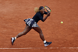 May 30, 2019, Paris, France: SERENA WILLIAMS of the USA in action against K. Nara of Japan during their second round match at the French Open tennis tournament at Roland Garros Stadium in Paris, France. Williams won 6:3, 6:2. (Credit Image: © Mehdi Taamallah/NurPhoto via ZUMA Press)