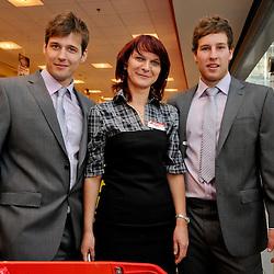 20110422: SLO, Ice Hockey - Presentation of Slovenian Ice Hockey Team in Mercator.