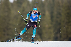 Julia Simon (FRA) during Women 15km Individual at day 5 of IBU Biathlon World Cup 2018/19 Pokljuka, on December 6, 2018 in Rudno polje, Pokljuka, Pokljuka, Slovenia. Photo by Ziga Zupan / Sportida