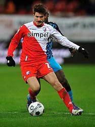 22-01-2012 VOETBAL: FC UTRECHT - PSV: UTRECHT<br /> Utrecht speelt gelijk tegen PSV 1-1 / Edouard Duplan<br /> ©2012-FotoHoogendoorn.nl