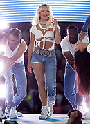 Rita Ora performing