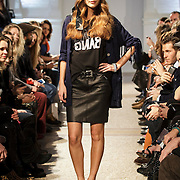 NLD/Amsterdam/20150128 - Modeshow Danie Bles 2015,
