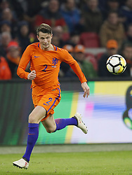 Hans Hateboer of Holland during the International friendly match match between The Netherlands and England at the Amsterdam Arena on March 23, 2018 in Amsterdam, The Netherlands