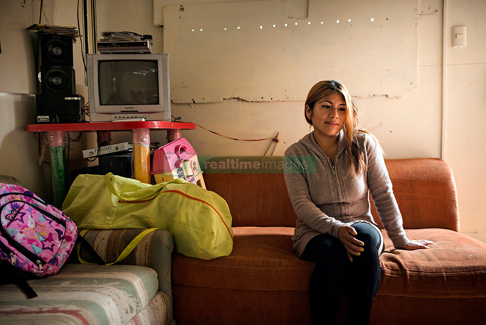 NO WEB/NO APPS - (Text available) Sandy, a 26-year-old housewife feels 'discriminated and marginalized by the society. They have taken away the opportunity to dream a different future for me and my children' she said, in Lima, Peru in May 2017. In Peru's capital Lima, a three-meter-high concrete wall topped with reels of razor wire separates two areas. The so-called 'Wall of Shame' - sometimes nicknamed 'Peru's Berlin Wall' - divides the urbanisation of Las Casuarinas, where some of the country's richest inhabitants live, and the poor suburb of Vista Hermosa next door. It was initially put up over fears that the inhabitants from the poor neighbourhood would steal from wealthy fellow citizens living nearby. On the rich side of the wall, the price for a square meter can exceed 2,000 dollars. To enter the area, you must show your ID to the guards watching the gate at the bottom of the hill. Former high-ranking politicians and bank directors live here. Their houses are surrounded by lush gardens and swimming pools despite the scarcity of water. Meanwhile, on the San Juan de Miraflores side, residents often fall victim to robbery and theft. They live in houses of barely 25m², made from scrap material, surrounded by the sand and earth characteristic of Lima's desert landscape. Photo by Giacomo D'Orlando/ABACAPRESS.COM