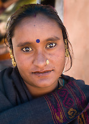 Rajasthani woman in Leh, Ladakh, India