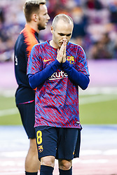 May 20, 2018 - Barcelona, Catalonia, Spain - 08 Andres Iniesta from Spain of FC Barcelona during the La Liga football match between FC Barcelona v Real Sociedad at Camp Nou Stadium in Spain on May 20 of 2018. (Credit Image: © Xavier Bonilla/NurPhoto via ZUMA Press)