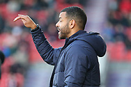Steven Reid during the EFL Sky Bet League 1 match between Doncaster Rovers and AFC Wimbledon at the Keepmoat Stadium, Doncaster, England on 17 November 2018.