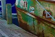 Rusted Scallop Boat, Lobster House Pier, Capt May, New Jersey