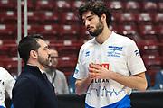 Vitali Michele e Magro Alessandro, EA7 Emporio Armani Milano vs Germani Basket Brescia - 12 giornata Campionato LBA 2017/2018, Milano Mediolanum Forum 26 dicembre 2017 - foto BERTANI/Ciamillo