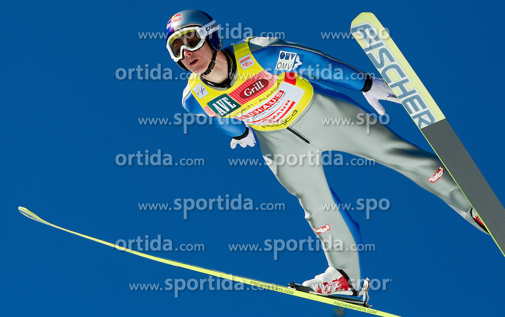 MORGENSTERN Thomas (AUT) during Flying Hill Team competition at 3rd day of FIS Ski Jumping World Cup Finals Planica 2012, on March 17, 2012, Planica, Slovenia. (Photo by Vid Ponikvar / Sportida.com)