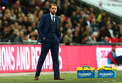 England Manager Gareth Southgate - Mandatory by-line: Robbie Stephenson/JMP - 05/10/2017 - FOOTBALL - Wembley Stadium - London, United Kingdom - England v Slovenia - World Cup qualifier