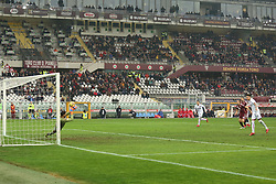 January 6, 2018 - Turin, Piedmont, Italy - Salvatore Sirigu (Torino FC) save the penalty kicked by Erick Pulgar (Bologna FC) during the Serie A football match between Torino FC and Bologna FC at Olympic Grande Torino Stadium on 06 January, 2018 in Turin, Italy. Torino won 3-0 over Bologna. (Credit Image: © Massimiliano Ferraro/NurPhoto via ZUMA Press)