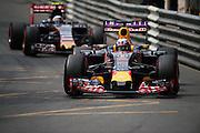 May 20-24, 2015: Monaco F1: Daniel Ricciardo (AUS), Red Bull-Renault, Carlos Sainz Jr. Scuderia Toro Rosso