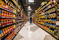 Extreme abundance and choices of foods and brands of foods at a Ralph's Supermarket in Sherman Oaks (Los Angeles), California USA.