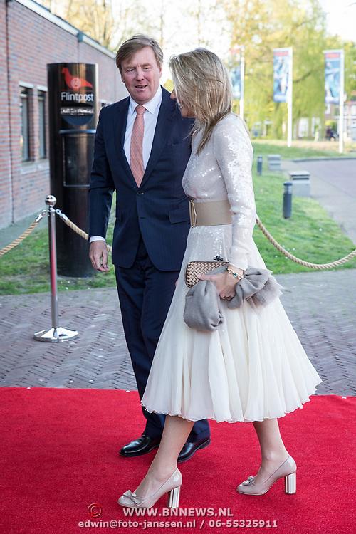 NLD/Amersfoort/20190415 - Koningsdagconcert in Amersfoort, Koning Willem Alexander en Koningin Maxima