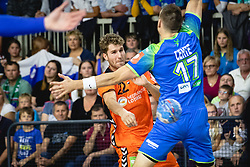 Jasper Adams of Nederland during friendly handball match between Slovenia and Nederland, on October 25, 2019 in Športna dvorana Hardek, Ormož, Slovenia. Photo by Blaž Weindorfer / Sportida