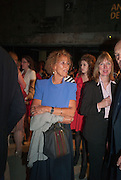 LADY HOLLICK, The Tanks at Tate Modern, opening. Tate Modern, Bankside, London, 16 July 2012