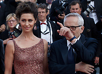 Actress Maria Fernanda Cândido and Director Marco Bellocchio at the The Traitor (Il Traditore) gala screening at the 72nd Cannes Film Festival Thursday 23rd May 2019, Cannes, France. Photo credit: Doreen Kennedy
