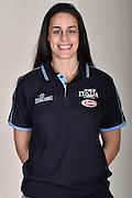 Sara Crudo<br /> Posati Nazionale Italiana Femminile 3 vs 3<br /> FIP Nazionali 2017<br /> Montegrotto Terme, 27/02/2017<br /> Foto Ciamillo-Castoria