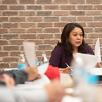Representative D. Wonda Johnson at a legislative joint work session between the City of Gallup and McKinley County Friday, December 6 at El Morro Events Center in Gallup.
