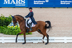 Irving Jill, CAN, Degas 12<br /> World Equestrian Games - Tryon 2018<br /> © Hippo Foto - Dirk Caremans<br /> 12/09/18
