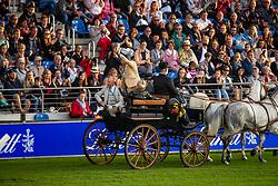 Opening ceremony, Pierre Durand, Marcel Rosier Margit Otto-Crepin<br /> CHIO Aachen 2019<br /> Weltfest des Pferdesports<br /> © Hippo Foto - Dirk Caremans<br /> Opening ceremony, Pierre Durand, Marcel Rosier Margit Otto-Crepin