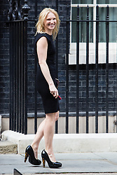 © Licensed to London News Pictures. 17/03/2014. London, UK. Radio DJ Jo Whiley arrives at Downing Street for a Sport Relief reception hosted by the Prime Minister, David Cameron on 17th March 2014. Photo credit : Vickie Flores/LNP