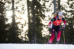 Ingrid Landmark Tandrevold (NOR) during the Mass Start Women 12,5 km at day 4 of IBU Biathlon World Cup 2019/20 Pokljuka, on January 23, 2020 in Rudno polje, Pokljuka, Pokljuka, Slovenia. Photo by Peter Podobnik / Sportida