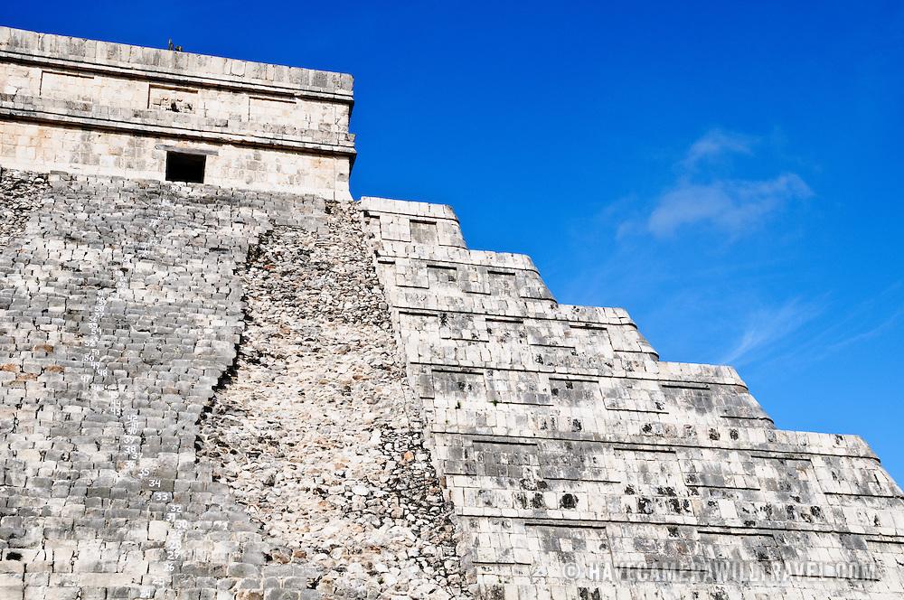 El Castillo (also known as Temple of Kuklcan) at the ancient Mayan ruins at Chichen Itza, Yucatan, Mexico 081216092350_4391.NEF