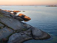 Sunrise in Kallskär.<br /> Stockholm Archipelago, Sweden