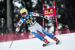 Neja Dvornik (SLO) as forerunner during 7th Ladies' Giant slalom at 52nd Golden Fox - Maribor of Audi FIS Ski World Cup 2015/16, on January 30, 2016 in Pohorje, Maribor, Slovenia. Photo by Vid Ponikvar / Sportida