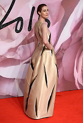 Erin O'Connor attending The Fashion Awards 2016 at The Royal Albert Hall in London. <br /> <br /> Picture Credit Should Read: Doug Peters/ EMPICS Entertainment
