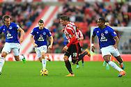 Connor Wickham of Sunderland in action - Sunderland vs. Everton - Barclay's Premier League - Stadium of Light - Sunderland - 09/11/2014 Pic Philip Oldham/Sportimage