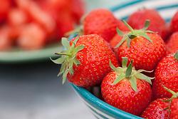 Bowl of strawberries