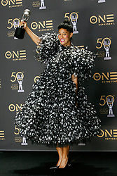 March 30, 2019 - Los Angeles, CA, USA - Hollywood, CA - MAR 30:  Tracee Ellis Ross at the 50th NAACP Image Awards Press Room at the Dolby Theatre on March 30 2019 in Hollywood CA. Credit: CraSH/imageSPACE (Credit Image: © Crash via ZUMA Wire)