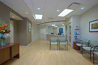 Architectural interior image of the ENT department  at Suburban Hospital Outpatient Center by Jeffrey Sauers of Commercial Photographics