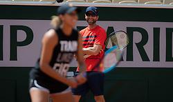 May 23, 2019 - Paris, FRANCE - Juan Todero during practice at the 2019 Roland Garros Grand Slam tennis tournament (Credit Image: © AFP7 via ZUMA Wire)