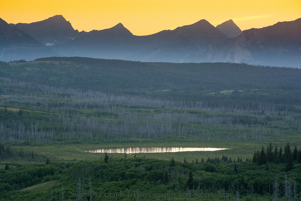 Sofa Mountain Meadows, Waterton Lakes National Park