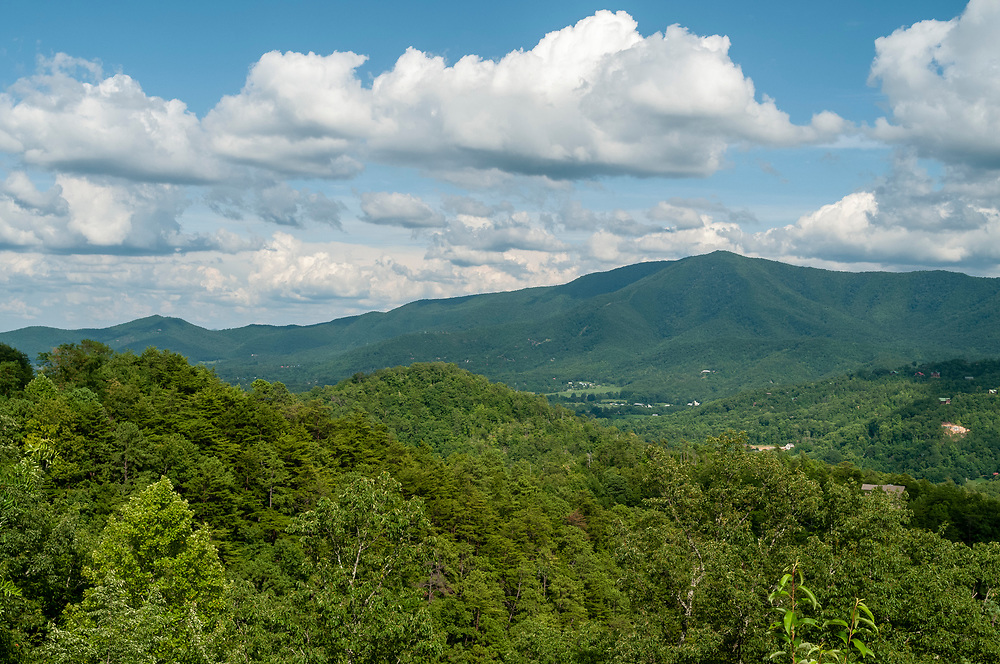 View of Cove Mountain at the Cove Mountain Overlook on the Foothills Parkway in Great Smoky Mountains National Park in Walland, Tennessee on Wednesday, August 12, 2020. Copyright 2020 Jason Barnette