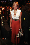 September 6, 2012- New York, New York: Recording Artist Olivia at the 2012 Mercedes-Benz Fashion Week for The ARISE Magazine Icons Fashion Showcase featuring the designs of Ozwald Boateng, Tiffany Amber, Tsemaye Binitie, Maki Oh and Gavin Rajah held at Lincoln Center on September 6, 2012 in New York City. ARISE is Africa's first and foremost international style magazine. Highlighting African achievement in fashion, music, culture and politics, it provides a positive portrayal of the continent and its contribution to contemporary society across the world.  (Terrence Jennings)