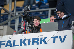 Falkirk 3 v 0 Dundee United, Scottish Championship game played 11/2/2017 at The Falkirk Stadium.