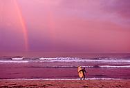 New York, South Fork, Montauk, Ditch Plains, Surfers