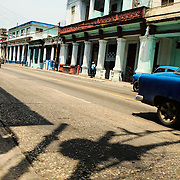 The majestic houses at the Cerro area in Havana