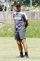 Claudio Ranieri Allenatore (Monaco)<br /> Roccaporena 06/07/2013 <br /> Amichevole/Friendly Match 2013/2014<br /> Football Calcio Monaco Fc-Cascia<br /> Foto Insidefoto Luca Pagliaricci