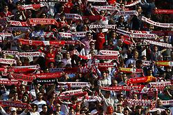 February 23, 2019 - Seville, Madrid, Spain - Sevilla FC fans are seen during the La Liga match between Sevilla FC and Futbol Club Barcelona at Estadio Sanchez Pizjuan in Seville, Spain. (Credit Image: © Manu Reino/SOPA Images via ZUMA Wire)