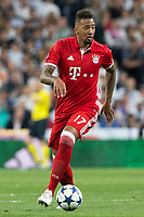 Jerome Boateng of FC Bayern Munchen during the match of Champions League between Real Madrid and FC Bayern Munchen at Santiago Bernabeu Stadium  in Madrid, Spain. April 18, 2017. (ALTERPHOTOS)