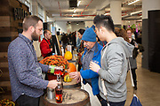 Brooklyn, NY - November 3, 2018: The third annual Food Loves Tech festival hosted by Edible Brooklyn at Industry City in Sunset Park.<br /> <br /> Photos by Clay Williams for Food Loves Tech.<br /> <br /> © Clay Williams / http://claywilliamsphoto.com