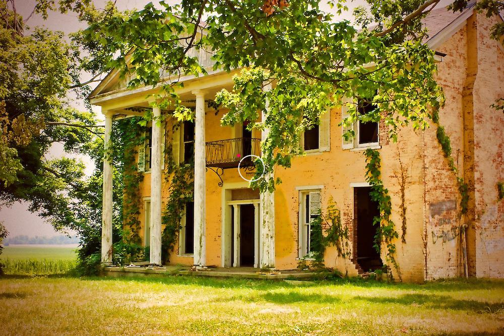 Old Kentucky Plantation Home